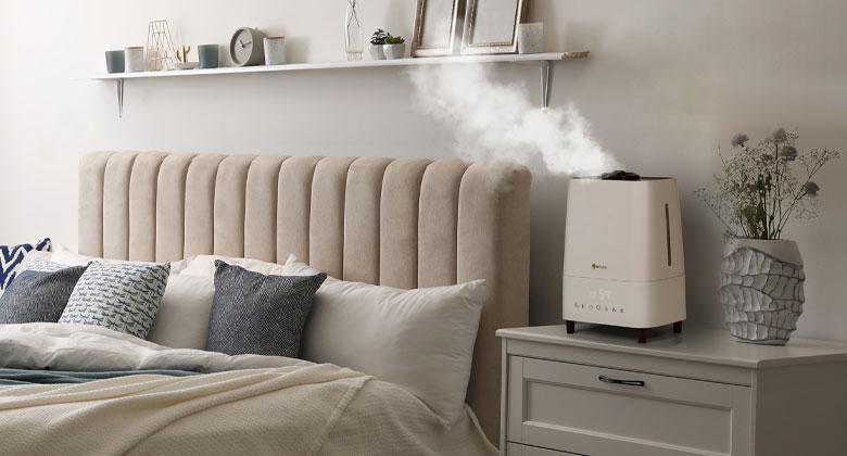 Õhuniisutaja magamistoas - ohukuivatid.ee